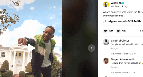 How to make MONEY on TikTok WILL SMITH influencer official account